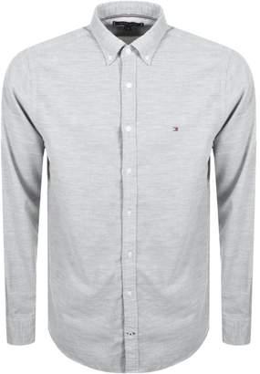 Tommy Hilfiger Long Sleeved Corduroy Shirt Grey