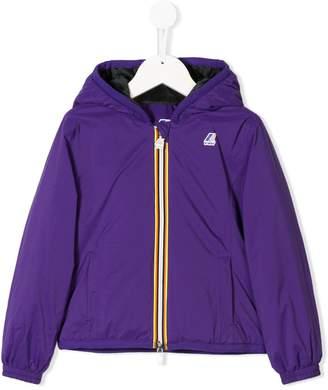 K Way Kids hooded zipped coat