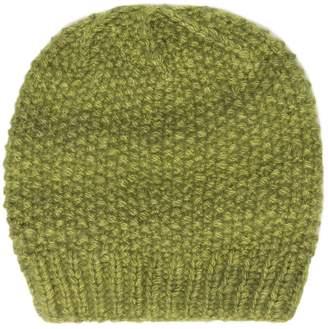 The Elder Statesman green cashmere beanie