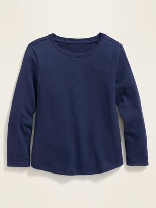 Old Navy Crew-Neck Long-Sleeve Tee for Toddler Girls
