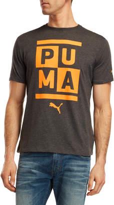 Puma Stack Logo Tee