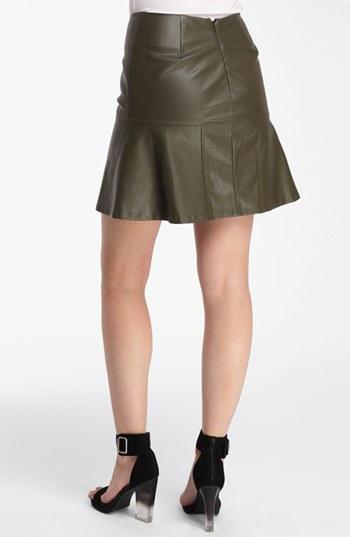 Catherine Malandrino 'Sasha' Faux Leather Skirt