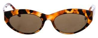 Cat Eye Cutler and Gross Cat-Eye Tinted Sunglasses