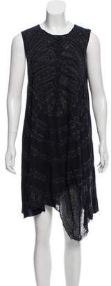 Raquel Allegra Tie-Dye Knit Dress