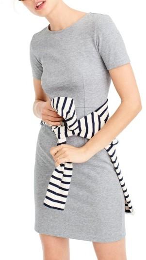 Women's J.crew Cotton Knit Sheath Dress