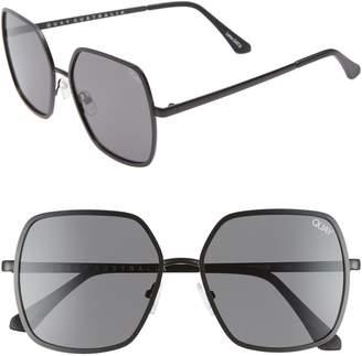 Quay Undercover 57mm Square Sunglasses