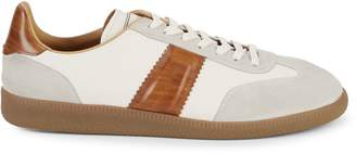Magnanni Leather & Suede Lace-Up Sneakers