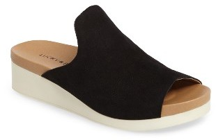Women's Lucky Brand Finela Slide Sandal $88.95 thestylecure.com