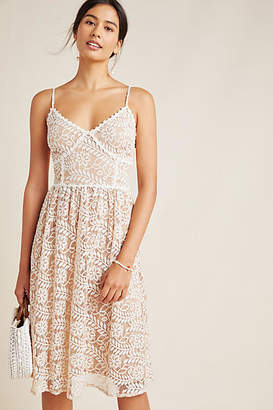 NSR Hayden Floral Midi Dress