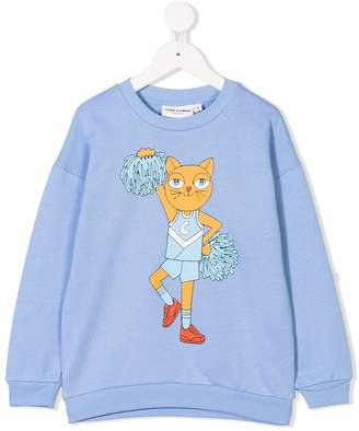 Mini Rodini Cheer Cats sweater