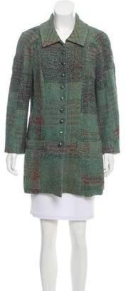Christian Lacroix Short Tweed Coat