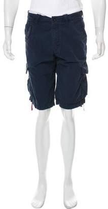 HUGO BOSS Boss by Woven Flat Front Shorts