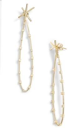 Melinda Maria Rose Drop Opal Earring Jackets