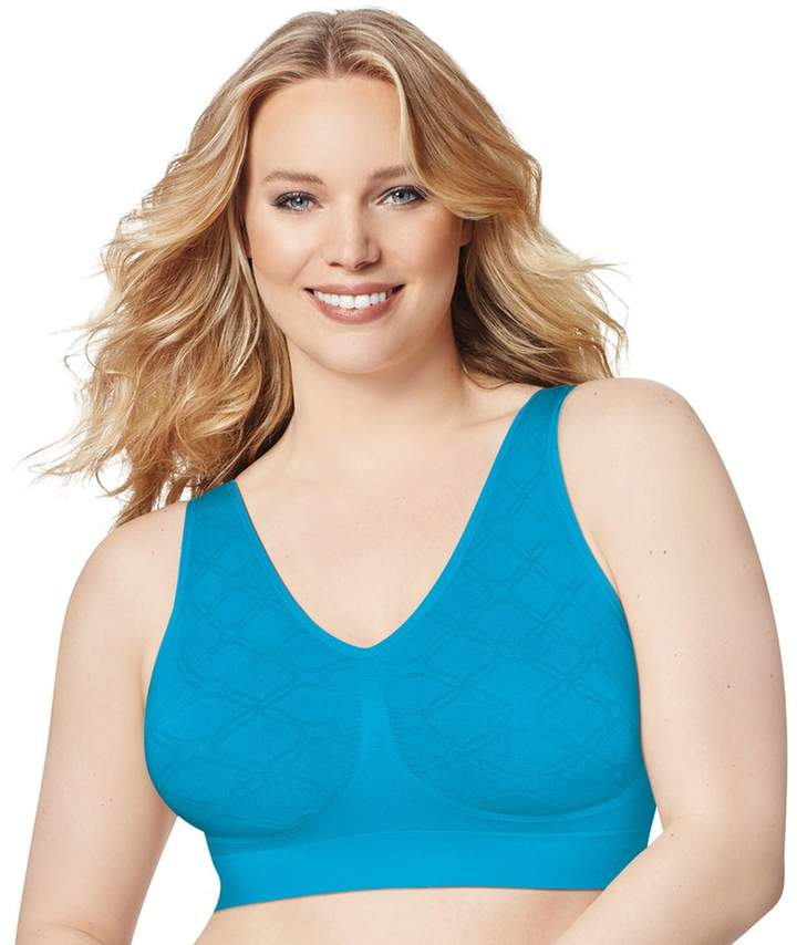 Just My Size Bras: 2-pack Pure Comfort Full-Figure Wire-Free Bra 1263