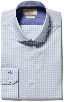 Original Penguin SKY BLUE GINGHAM DRESS SHIRT