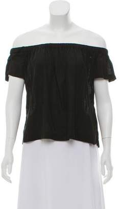 Bella Dahl Short Sleeve Off-The-Shoulder Top