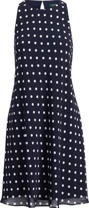 Lauren Ralph Lauren Ralph Lauren Polka-Dot Casual Dress