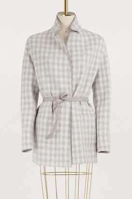 Loro Piana Reversible jacket with a belt