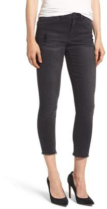 Wit & Wisdom Seamless Frayed Ankle Skimmer Jeans (Nordstrom Exclusive)