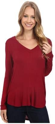 Bobeau B Collection by Alice Long Sleeve Tee Women's T Shirt