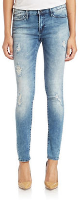 Buffalo David Bitton Faith Distressed Skinny Jeans $79 thestylecure.com