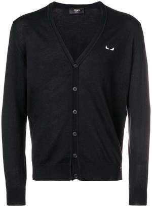 Fendi long-sleeve buttoned cardigan