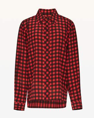 Juicy Couture Check Silk Shirt