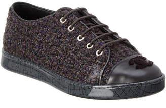 Chanel Tweed Sneaker