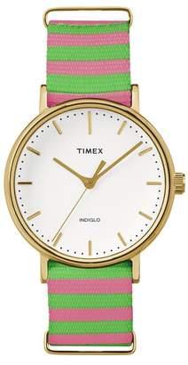 Timex Men's Fairfield Indiglo Quartz Watch, 37mm