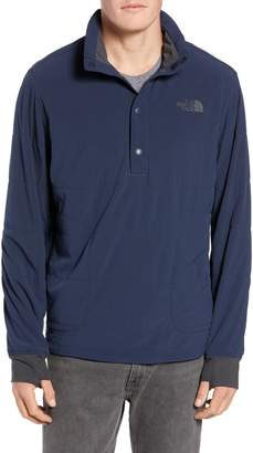 The North Face Mountain Quilted Quarter Snap Sweatshirt