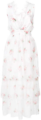 Brock Collection layered floral dress