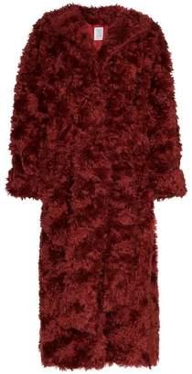Rosie Assoulin oversized mohair coat