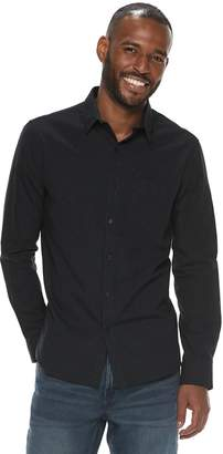 Marc Anthony Men's Slim-Fit 1-Pocket Button-Down Shirt