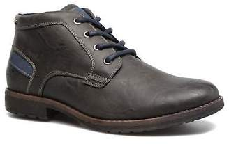 Tom Tailor Men's Léonce Rounded toe Ankle Boots in Grey