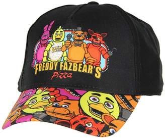 Freddy Five Nights at Freddy's Youth Printed Brim Snapback Hat