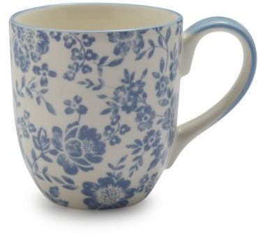 Sur La Table Peony Floral Mug