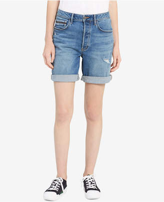 Calvin Klein Jeans (カルバン クライン ジーンズ) - Calvin Klein Jeans Distressed Denim City Shorts