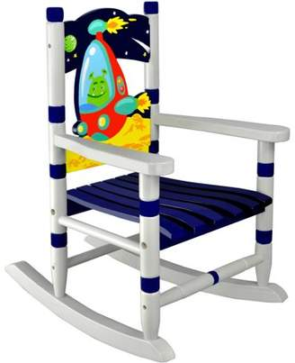 Fantasy Fields Kids Outer Space Rocking Chair