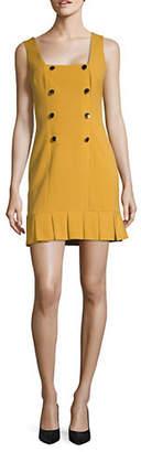 Missguided Double-Breasted Mini Sheath Dress