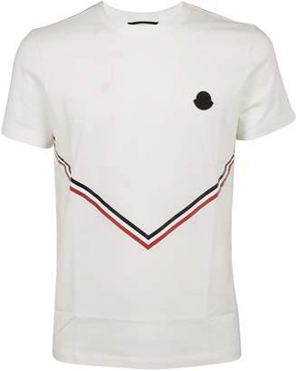 Moncler Tri-color Tape V T-shirt