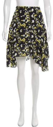 Jason Wu Grey by Abstract Print Silk Skirt w/ Tags