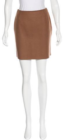 Alberta FerrettiPhilosophy di Alberta Ferretti Wool Mini Skirt