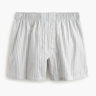 J.Crew White striped boxers