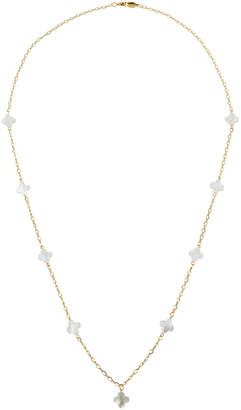 A.V. Max Mother-of-Pearl Station Necklace