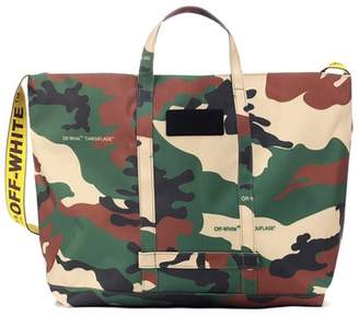 Off-White Camouflage shopper