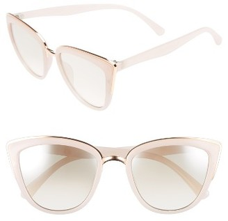 Women's Bp. 57Mm Cat Eye Sunglasses - Pink $12 thestylecure.com