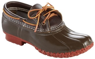 L.L. Bean Women's L.L.Bean Boots, Two-Eye Boat Gumshoes, Leather