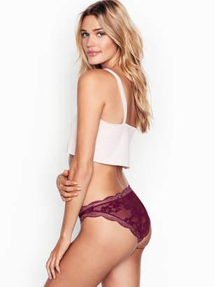 Victoria's Secret Dream Angels Scalloped Lace Cheekini Panty