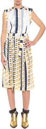 Maison Margiela Printed Midi Dress