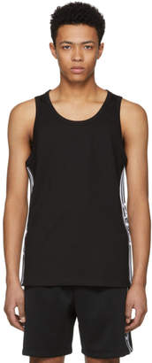 Kokon To Zai Black Line Ribbon Tank Top